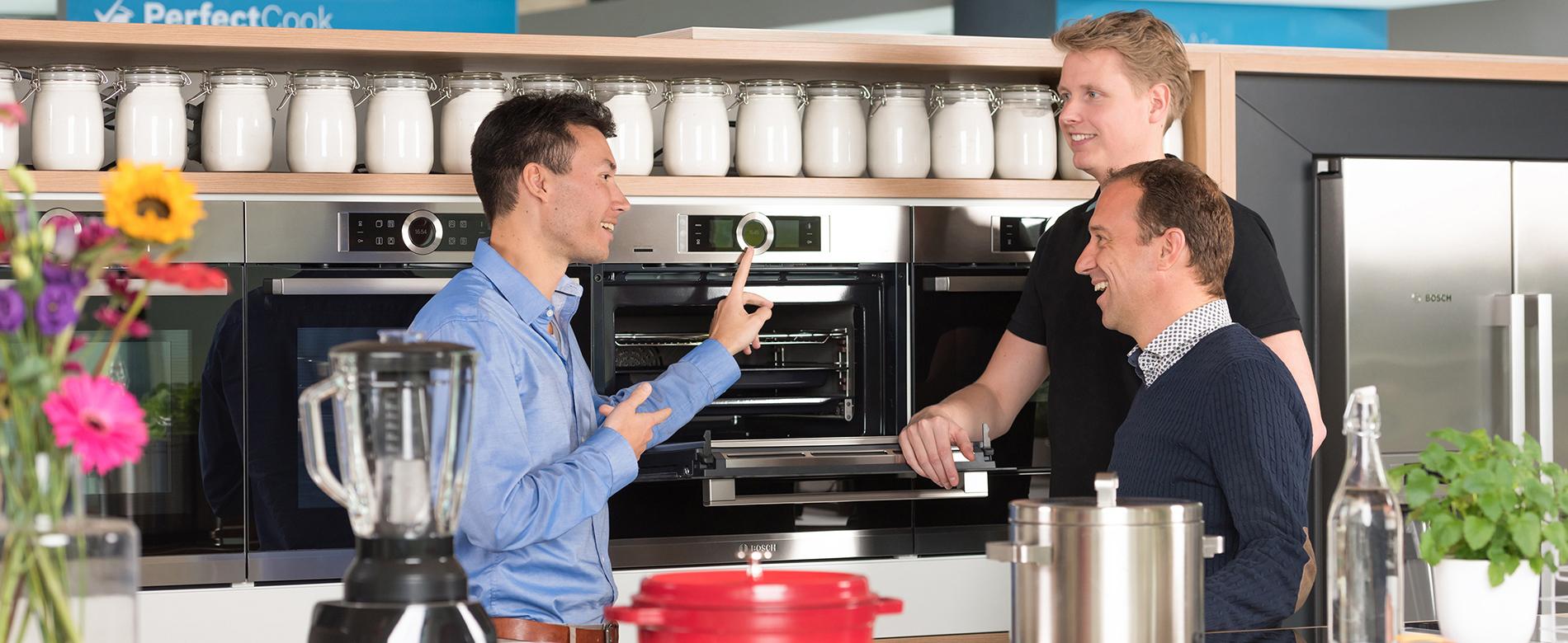 Een wereld aan inspirerende keukenapparatuur for Bosch inspiratiehuis